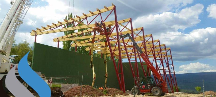 Estructuras metalicas zaragoza egproyect
