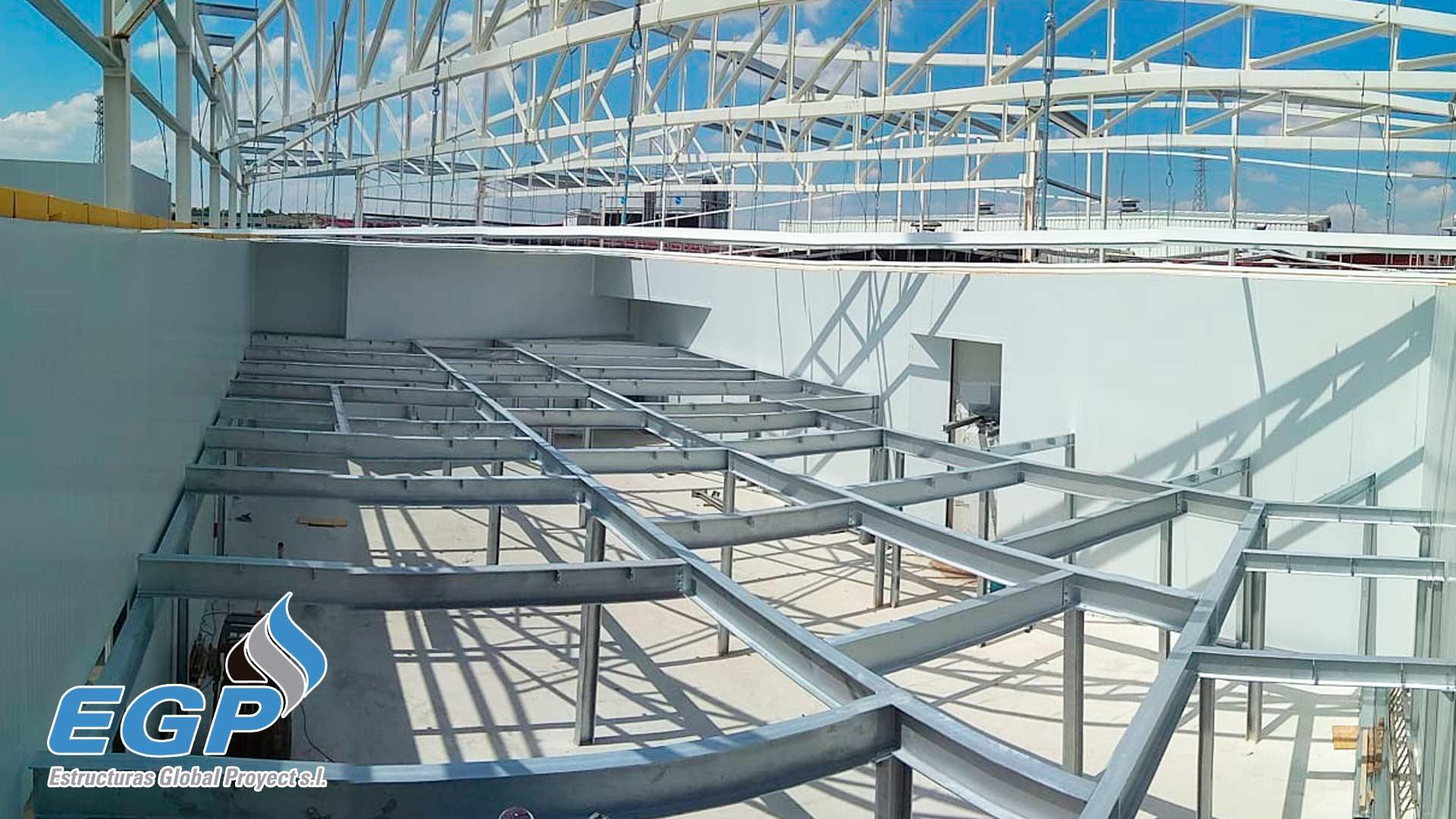 Estructura galvanizada egproyect